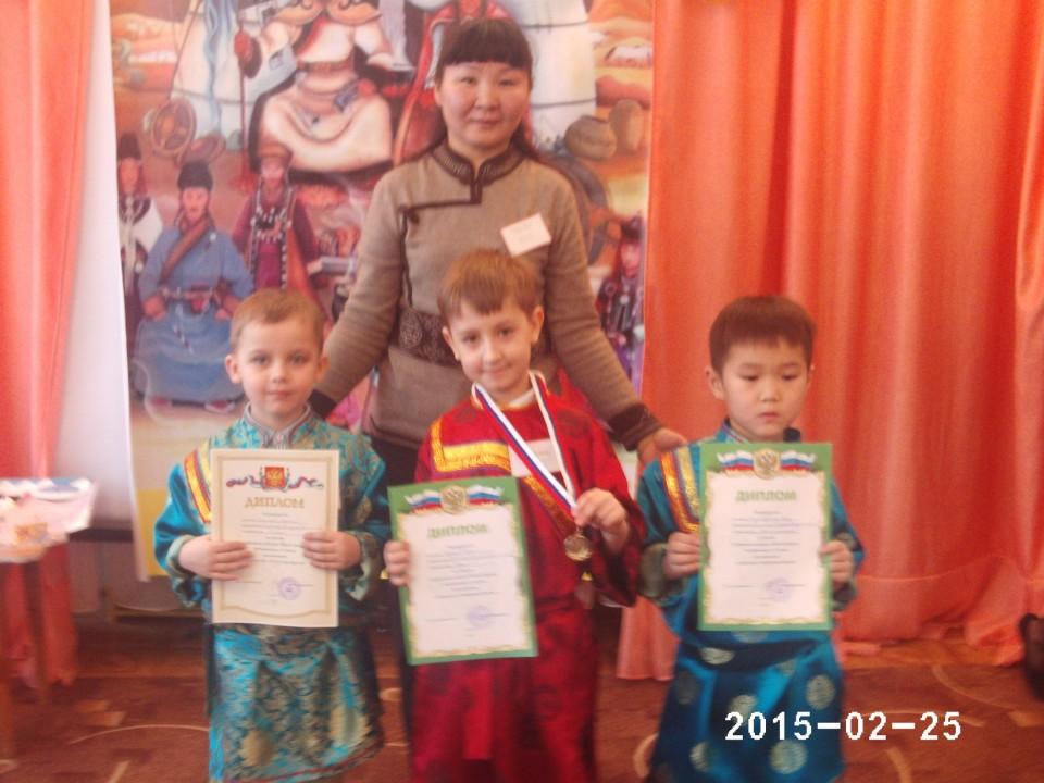 Шагай наадан - районный конкурс
