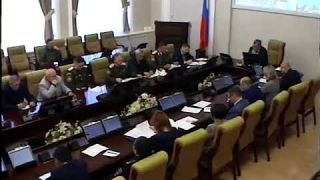 Заседание комиссии при Правительстве Республики Бурятия по делам казачества, декабрь 2018